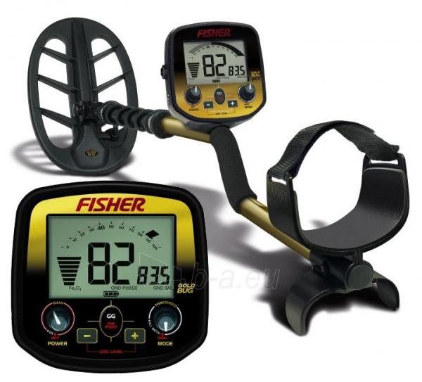 Metalo detektorius Fisher Gold Bug Paveikslėlis 1 iš 1 250530800045