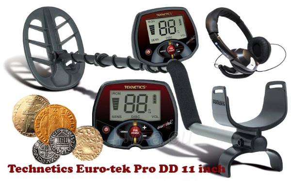 Metalo detektorius TEKNETICS EURO-TEK PRO 11DD Paveikslėlis 1 iš 1 250530800146