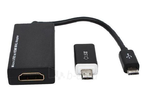 MHL-HDMI konverteris Sandberg Paveikslėlis 1 iš 3 250255081470