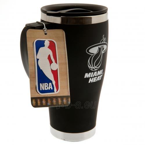 Miami Heat prabangus kelioninis puodelis Paveikslėlis 3 iš 4 310820126153