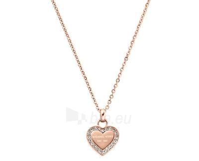 Michael Kors Jemný bronzový náhrdelník s přívěskem srdce MKJ3971791 Paveikslėlis 1 iš 1 310820041158