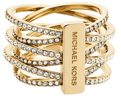 Michael Kors žiedas su kristalais MKJ4422710 (Dydis: 54 mm) Paveikslėlis 1 iš 1 310820048882
