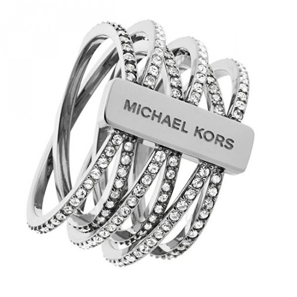 Michael Kors žiedas su kristalais MKJ4423040 (Dydis: 54 mm) Paveikslėlis 1 iš 2 310820048910