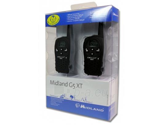 MIDLAND G5XT PMR Radijo stotelė Paveikslėlis 1 iš 2 310820038558