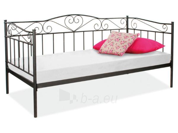 Miegamojo lova Birma juoda Paveikslėlis 1 iš 1 250432000210