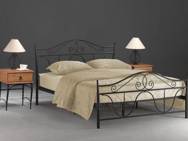 Miegamojo lova Denver 160 juoda Paveikslėlis 1 iš 3 250432000052