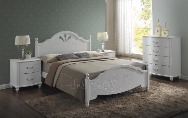 Miegamojo lova Malta 160 Paveikslėlis 1 iš 1 250432000365