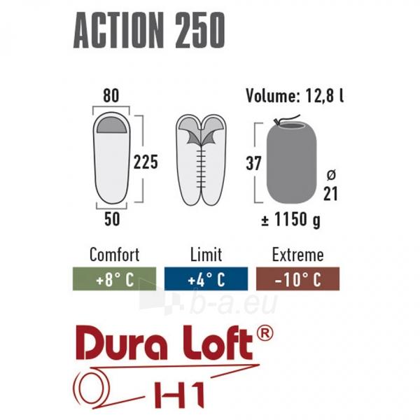 Miegmaišis High Peak Action 250 (225x80x50cm) 26021 Paveikslėlis 3 iš 3 310820216420