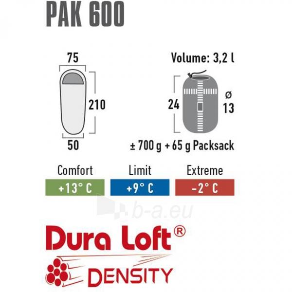 Miegmaišis High Peak Easy Lite Pak 600 210x75x50 23244 Paveikslėlis 2 iš 5 310820216430
