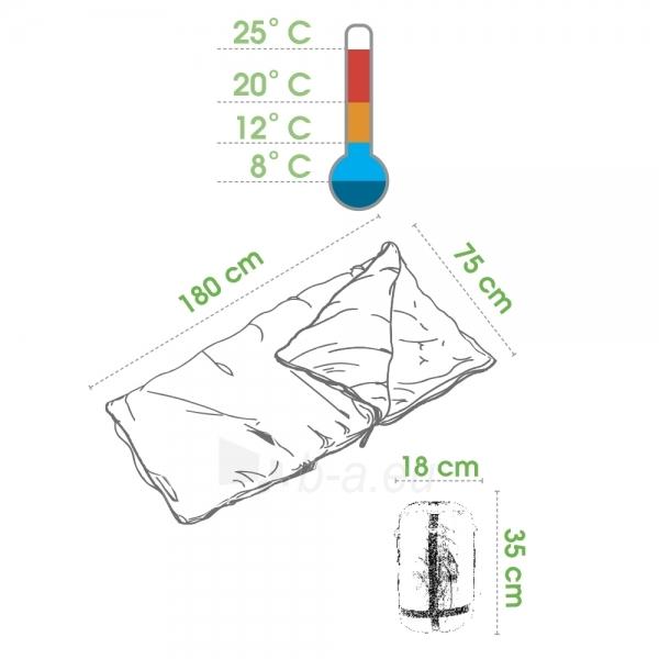 Sleeping-bag Spokey COZY Paveikslėlis 2 iš 3 250403206110
