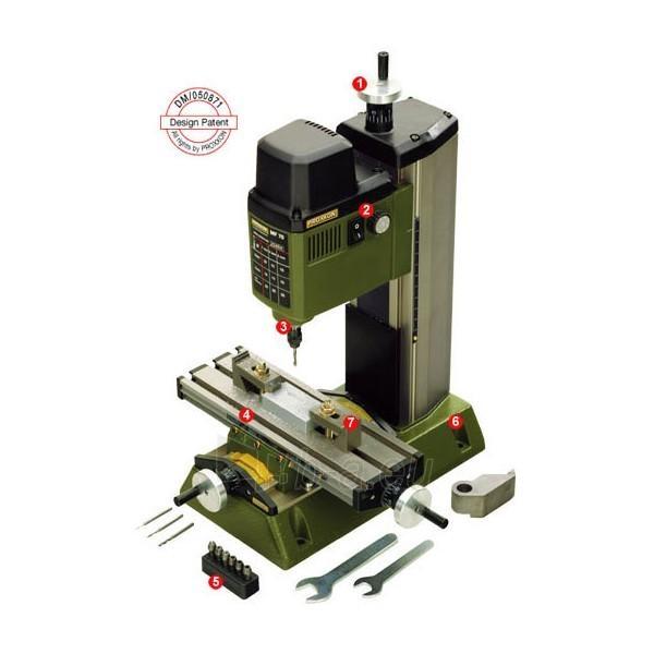 Mikro stacionarus metalo grežtuvas-frezeris PROXXON MF 70 Paveikslėlis 1 iš 1 300437000060