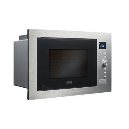 Mikrobangų krosnelė Caso Microwave Oven EMCG 32 Built-in, 32 L, Grill, Convection, Manual operation, 1000 W, Stainless steel, No Defrost Paveikslėlis 1 iš 4 310820216524