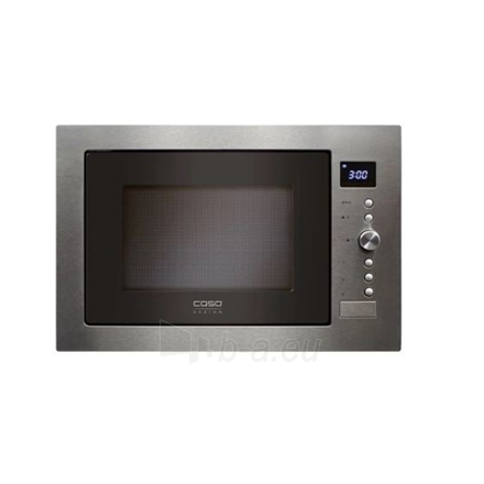 Mikrobangų krosnelė Caso Microwave Oven EMCG 32 Built-in, 32 L, Grill, Convection, Manual operation, 1000 W, Stainless steel, No Defrost Paveikslėlis 2 iš 4 310820216524