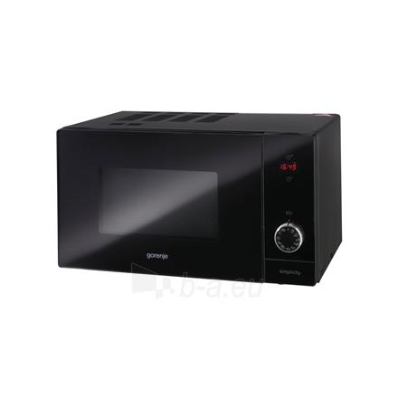Mikrobangų krosnelė Gorenje Microwave oven with grill MO6240SY2B 23 L, Free standing, Grill, Electronic, 900 W, Black, Defrost function Paveikslėlis 1 iš 1 310820168862