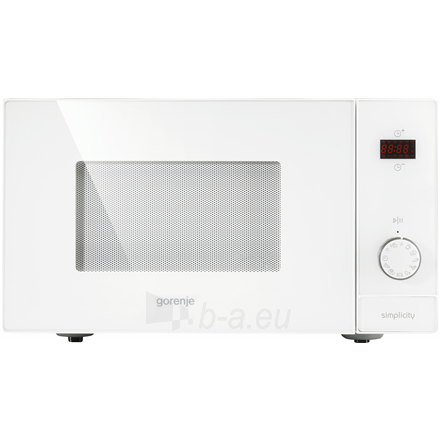 Mikrobangų krosnelė Gorenje Microwave oven with grill MO6240SY2W 23 L, Free standing, Grill, Electronic, 900 W, Stainless steel, Defrost function Paveikslėlis 1 iš 1 310820166118
