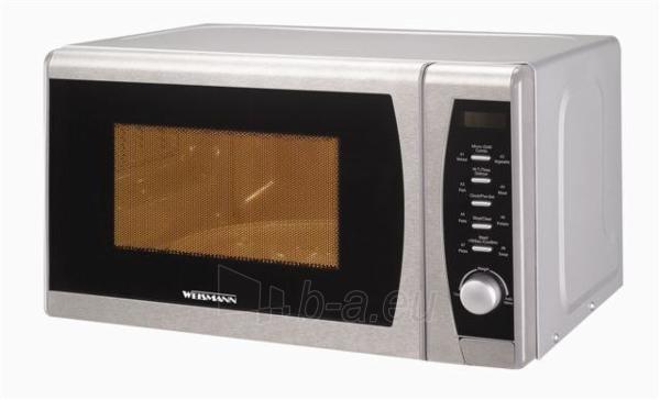 Microwave WEISMANN AG820CZM sidabrinė Paveikslėlis 1 iš 1 250119000260