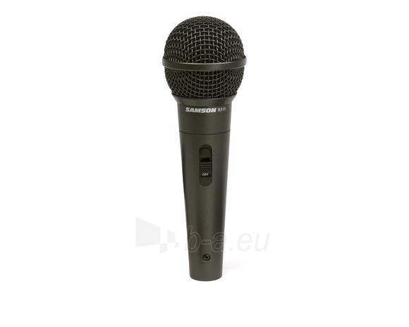 Mikrofonas SAMSON R31S XLR | hypercardioid |On/Off mygtukas Paveikslėlis 1 iš 1 250255090802