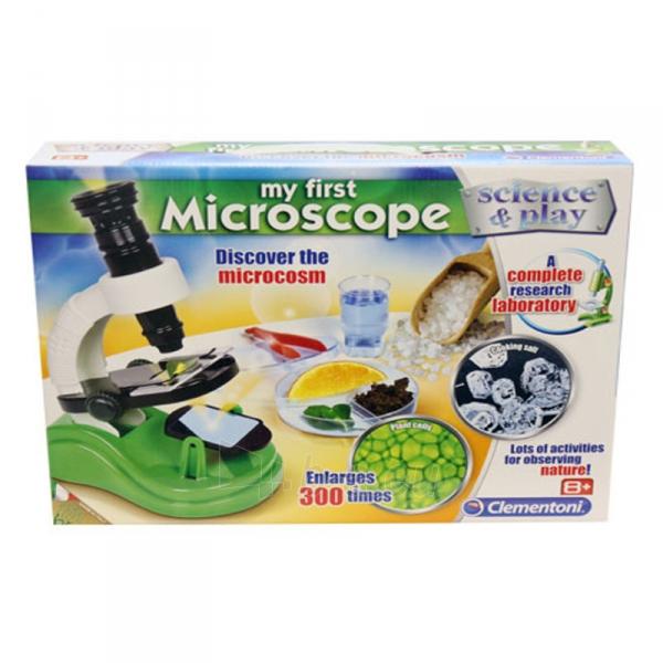 Mikroskopas My first microscope Paveikslėlis 1 iš 1 310820163234
