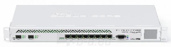 MikroTik CCR1036-8G-2S+ L6 36xCore 1.2GHz 4GB RAM, 8xGig LAN, 2xSFP+ 10GbE Paveikslėlis 1 iš 2 250257100377