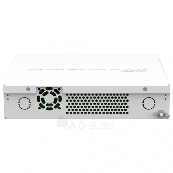 MikroTik CRS212-1G-10S-1S+IN L5 10xSFP 1G, 1xSFP+ LCD, Desktop case with 19Ears Paveikslėlis 4 iš 4 250257100565