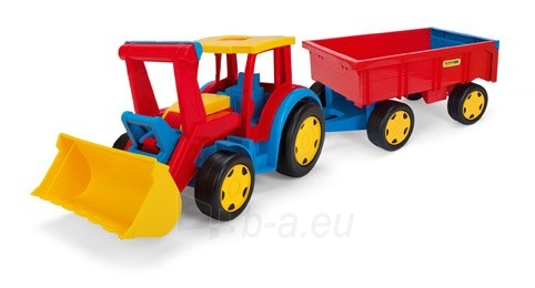 Milžiniškas traktorius su priekaba | Wader Paveikslėlis 1 iš 2 310820005162