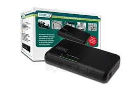 Mini komutatorius Digitus 5 portai 10/100 Mb/s Paveikslėlis 1 iš 1 250257501195