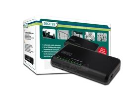 Mini komutatorius Digitus 8 portai 10/100 Mb/s Paveikslėlis 1 iš 1 250257501196