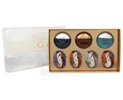 Miniatiūrų kolekcija Bvlgari Miniatury Bvlgari Women a Men 35 ml Paveikslėlis 1 iš 1 310820043485