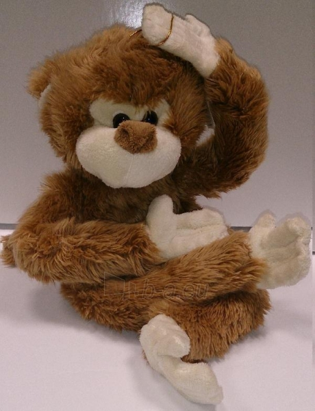 Beždžionė - 35cm 413A Paveikslėlis 1 iš 1 250710400288