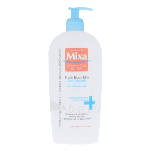 Mixa Fresh Body Milk Anti-Dryness Cosmetic 400ml Paveikslėlis 1 iš 1 250850201183
