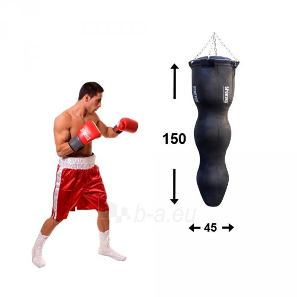 MMA kriaušė / maišas SportKO Silhouette MSP 150/45 65kg - Black Paveikslėlis 2 iš 2 310820219155