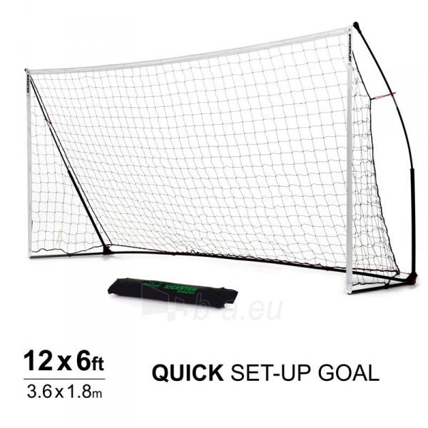 Mobilūs futbolo vartai QuickPlay Kickster Academy 366x183x100cm Paveikslėlis 1 iš 10 310820207457
