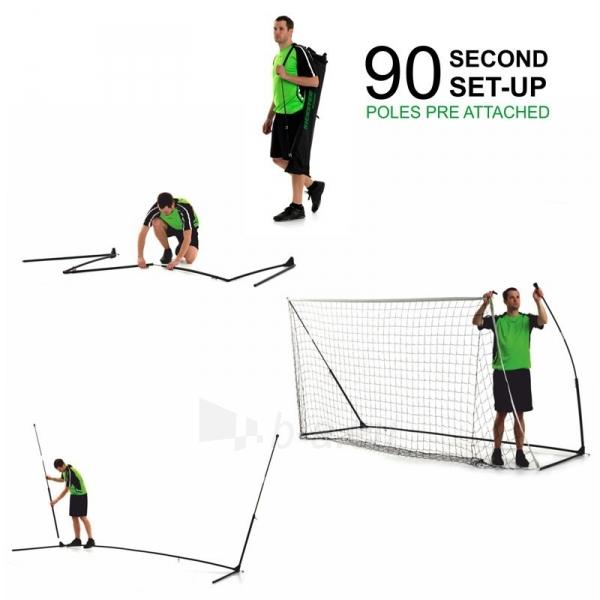 Mobilūs futbolo vartai QuickPlay Kickster Academy 366x183x100cm Paveikslėlis 9 iš 10 310820207457