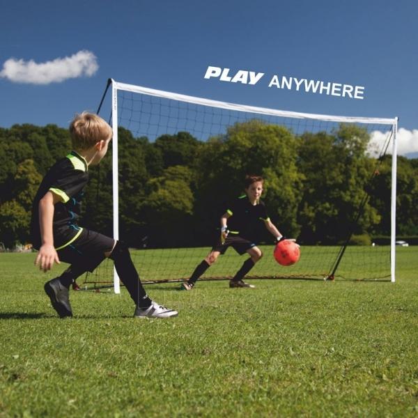 Mobilūs futbolo vartai QuickPlay Kickster Academy 366x183x100cm Paveikslėlis 4 iš 10 310820207457