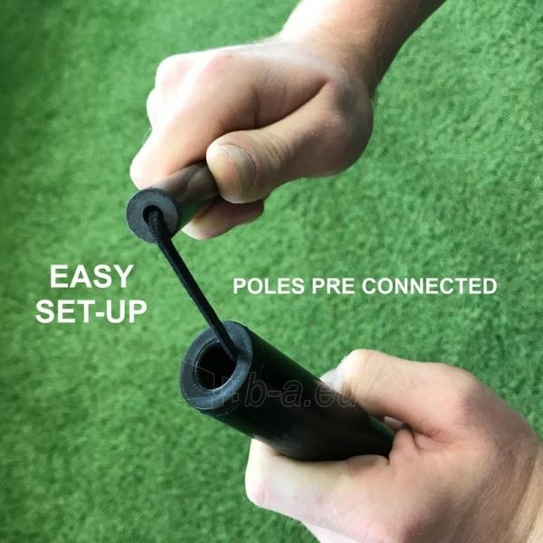 Mobilūs futbolo vartai QuickPlay Kickster Academy 366x183x100cm Paveikslėlis 3 iš 10 310820207457