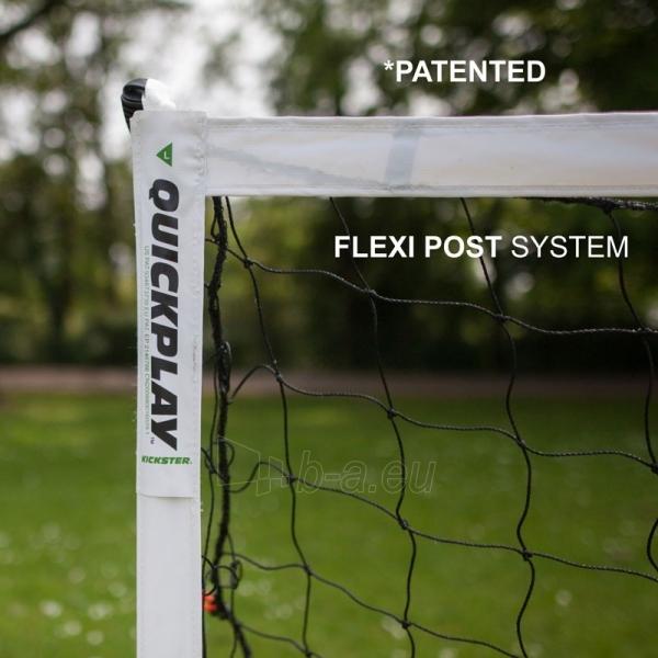 Mobilūs futbolo vartai QuickPlay Kickster Academy 366x183x100cm Paveikslėlis 2 iš 10 310820207457