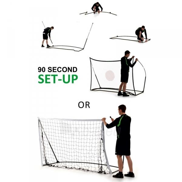 Mobilūs futbolo vartai su atmušimo sienelė QuickPlay Combo 240x150x100cm Paveikslėlis 9 iš 10 310820186203