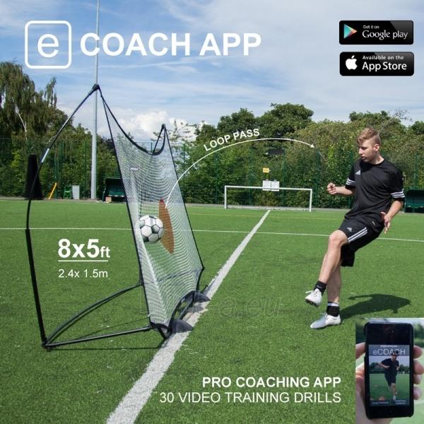 Mobilūs futbolo vartai su atmušimo sienelė QuickPlay Combo 240x150x100cm Paveikslėlis 7 iš 10 310820186203