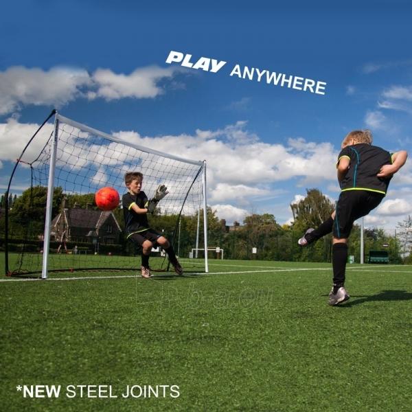Mobilūs futbolo vartai su atmušimo sienelė QuickPlay Combo 240x150x100cm Paveikslėlis 4 iš 10 310820186203