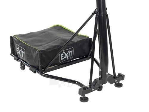 Mobilus krepšinio stovas su spyruokliuojančiu lanku Exit Galaxy Black 112x73cm Paveikslėlis 4 iš 7 310820189485