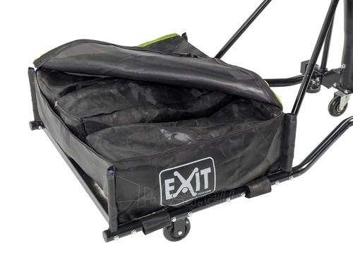 Mobilus krepšinio stovas su spyruokliuojančiu lanku Exit Galaxy Black 112x73cm Paveikslėlis 5 iš 7 310820189485