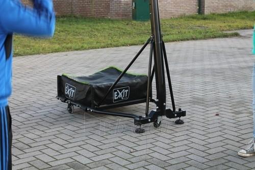 Mobilus krepšinio stovas su spyruokliuojančiu lanku Exit Galaxy Black 112x73cm Paveikslėlis 7 iš 7 310820189485