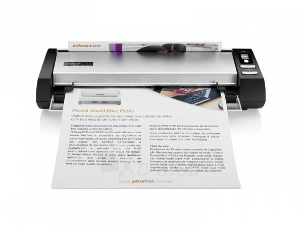Mobilus skeneris Plustek MobileOffice D430 Paveikslėlis 3 iš 8 310820044602