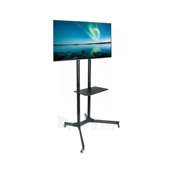 Mobilus stovas Techly sk TV LCD/LED/Plazma 30-65 60kg VESA palenk. su lent. Paveikslėlis 4 iš 5 310820037608