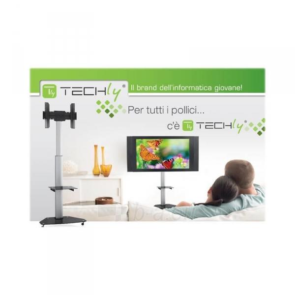Mobilus stovas Techly skirtas TV LCD/LED/Plasma 37-70 VESA, pivot, regulioj. Paveikslėlis 3 iš 4 310820037572