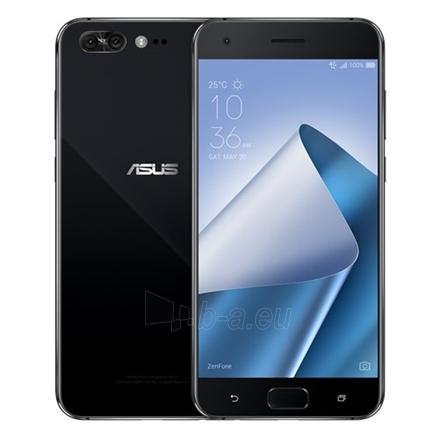 "Mobilus telefonas Asus ZenFone 4 Pro ZS551KL Black, 5.5 "", AMOLED, 1920 x 1080 pixels, Qualcomm Snapdragon 835, MSM8998, Internal RAM 6 GB, 128 GB, Micro SD, Dual SIM, Nano SIM, 4G, Main camera 16 MP, Second camera 8 MP, Android, 7.0, 3600 mAh Paveikslėlis 1 iš 4 310820121238"