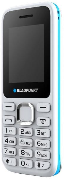 Mobilus telefonas Blaupunkt FM 02 Dual white ENG Paveikslėlis 1 iš 2 310820155166
