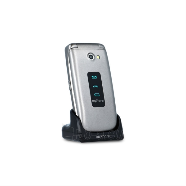 Mobilus telefonas MyMobilais telefons Rumba silver Paveikslėlis 1 iš 5 310820155007
