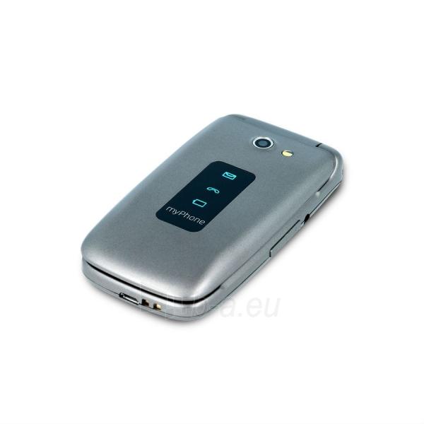 Mobilus telefonas MyMobilais telefons Rumba silver Paveikslėlis 4 iš 5 310820155007