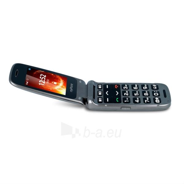 Mobilus telefonas MyMobilais telefons Rumba silver Paveikslėlis 5 iš 5 310820155007